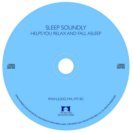 Sleep Soundly CD - Calming Guitar Music With Nature Sounds