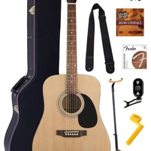 Jasmine S35 Dreadnought Acoustic Guitar Bundle