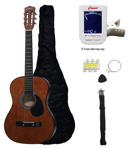 Crescent MG38 CF Acoustic Guitar Starter Package